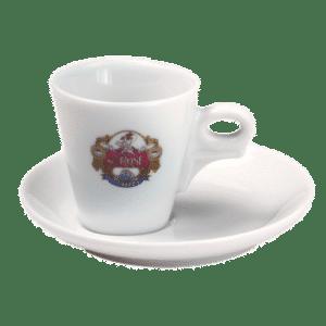 Mrs Rose Φλυτζάνι Espresso tipo Giotto Πορσελάνης