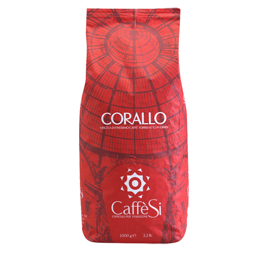 Espresso Caffe Si - Corallo 1000g σε κόκκους