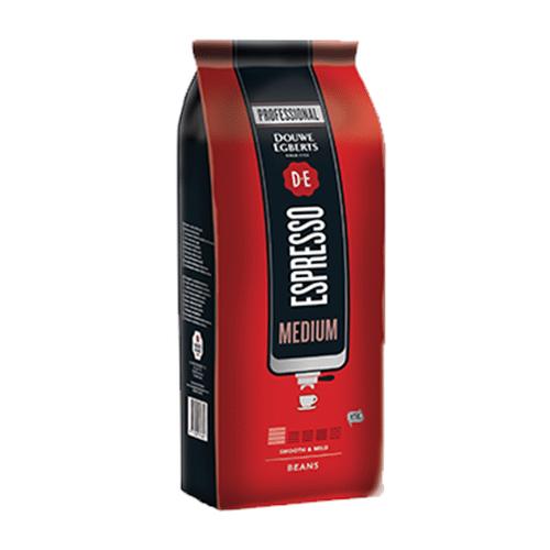 Espresso Douwe Egberts - Medium Roast 100% Arabica 1000g σε Κόκκους