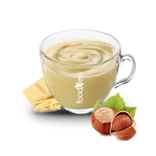 Foodness Chocolate - White with Hazelnuts 15x30g