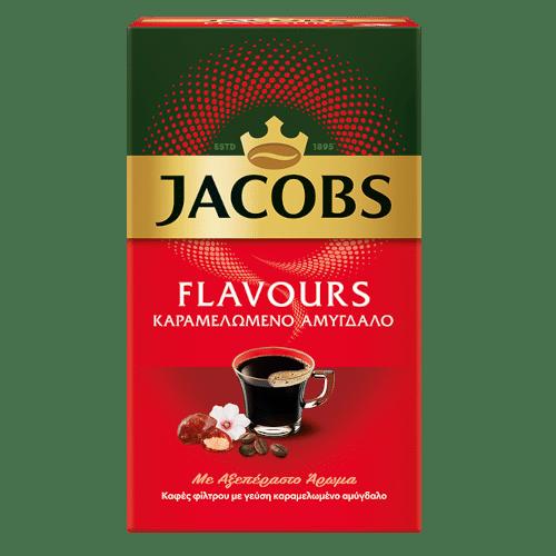 Jacobs Flavours Καραμελωμένο Αμύγδαλο 250γρ