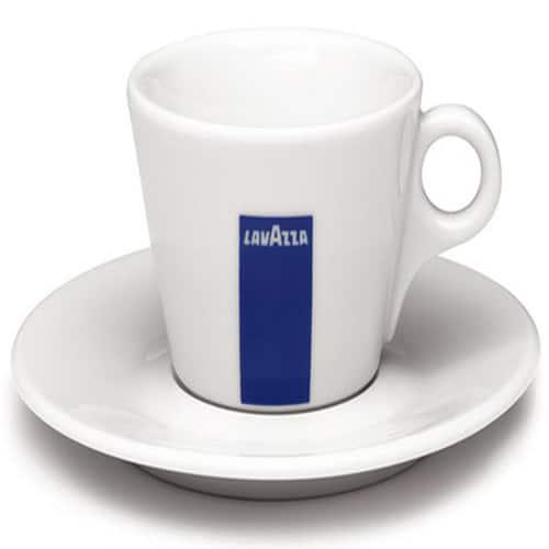 Φλυτζάνι καφέ Lavazza Cappuccino πορσελάνης με πιατάκι 1 τεμάχιo
