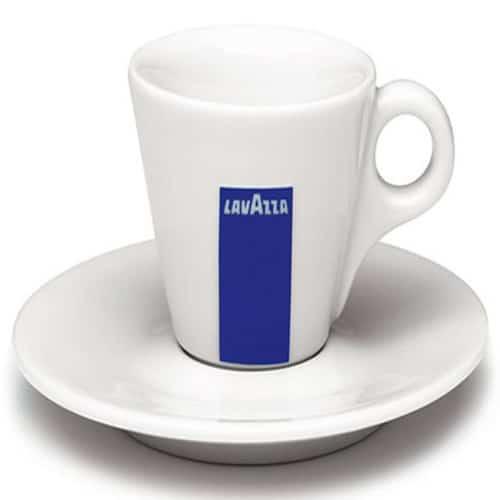 Φλυτζάνι καφέ Lavazza espresso πορσελάνη με πιατάκι 1 τεμάχιο