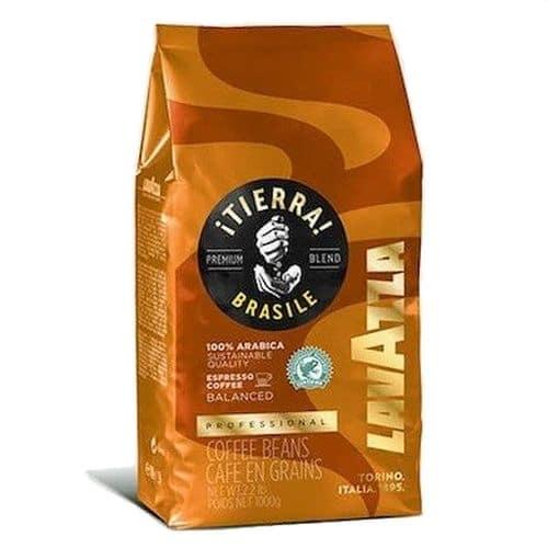 Espresso Lavazza - Tierra Brasile 100% Arabica 1000g σε κόκκους