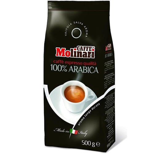 Molinari - Espresso 100% Arabica 500g σε κόκκους