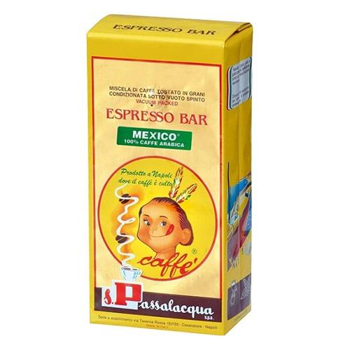 Espresso Passalacqua Mekico 100% Arabica 1000g σε κόκκους
