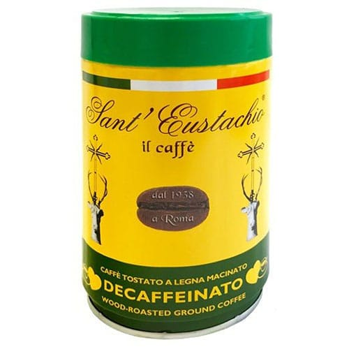 Espresso Sant Eustachio Decaffeinated can 250g αλεσμένος