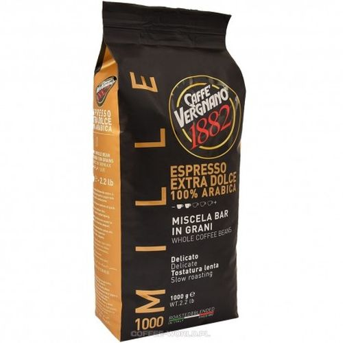 Espresso Vergnano - Extra Dolce Mille 1000g σε κόκκους