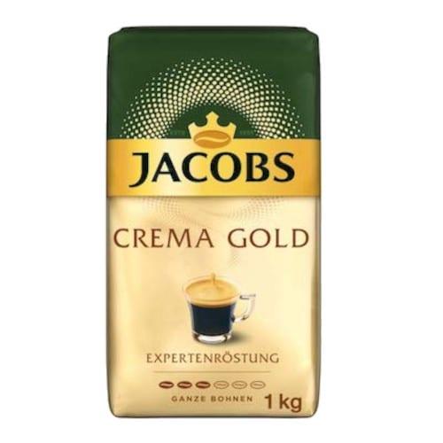 Jacobs Crema Gold σε κόκκους 1kg